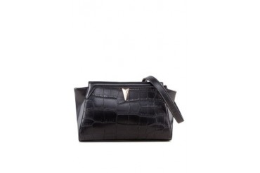 Something Borrowed Trapeze Clutch
