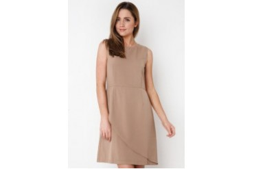 Urban Twist Leave Cut Mini Dress