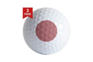 Valentine Houndstooth Holiday Golf Balls by CafePress