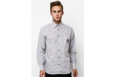 Intresse Casual Long Sleeve Cotton Stripes