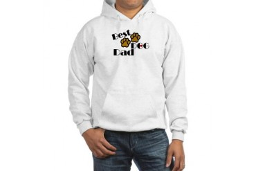 Best Dog Dad Pets Hooded Sweatshirt by CafePress