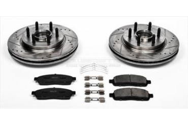 Power Stop Performance Brake Upgrade Kit K1939 Replacement Brake Pad and Rotor Kit