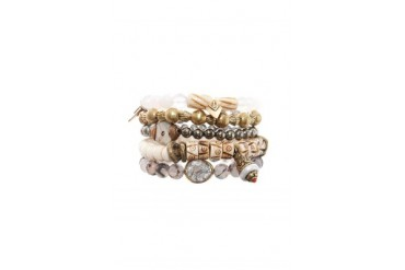 Purity Bracelet Set in Multi - designed by Lacey Ryan
