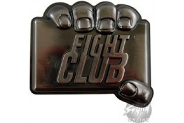 Fight Club Hold Belt Buckle
