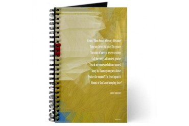 Hymn Decorative Journal by CafePress