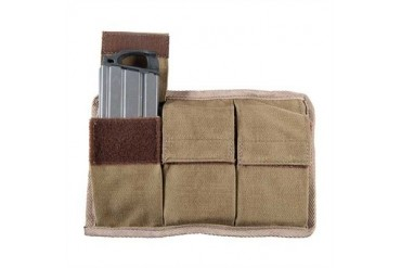 Triple Magazine Pouch - Molle 20-Round Magazine Pouch Coyote