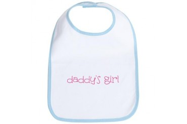 Daddy's Girl Baby Bib by CafePress