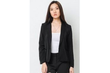 Grace One Button Lined Blazer