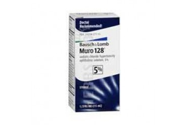 Bausch And Lomb Muro 128 5% Ophthalmic Eye Solution0.5 oz