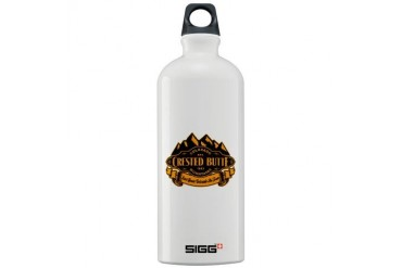 Crested Butte Mountain Emblem Sigg Water Bottle 1. Colorado Sigg Water Bottle 1.0L by CafePress