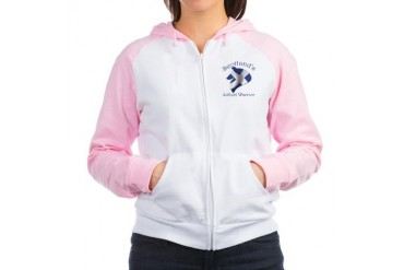 Scotlands Warrior Pets Women's Raglan Hoodie by CafePress