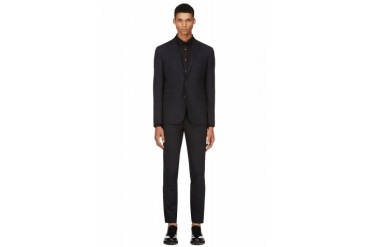 Dsquared2 Navy Classic Wool Suit