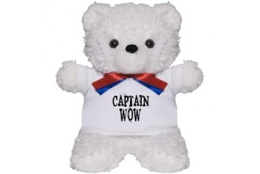 Captain Wow Zombie Teddy Bear by CafePress