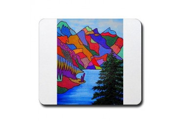 Banff Nature Mousepad by CafePress