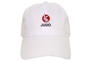 Judo front back logos Sports Cap by CafePress