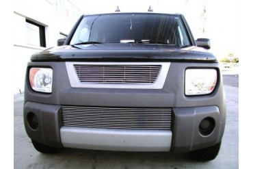 Grillcraft BG Series Bumper Billet Grille Honda Element 03-06