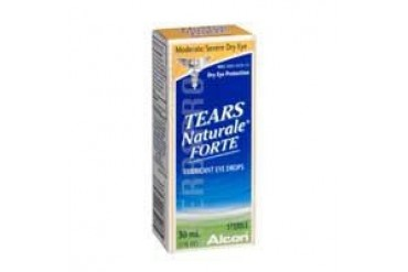 Tears Naturale Forte Lubricant Eye Drops 30 ml
