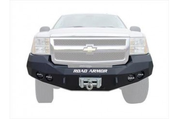 Road Armor Front Stealth Winch Bumper in Satin Black 37200B Front Bumpers