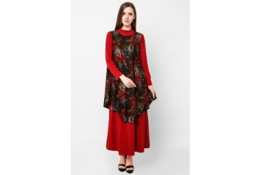 Sanban Spesial Collection Flowery Dress