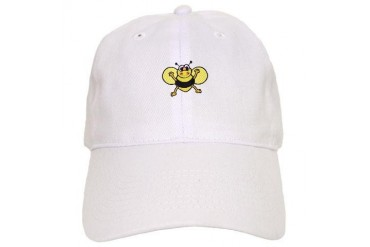 Silly Bee Animals Cap by CafePress