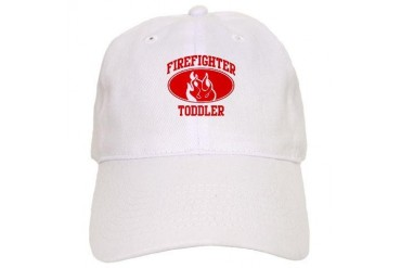 Firefighter TODDLER Flame Family Cap by CafePress