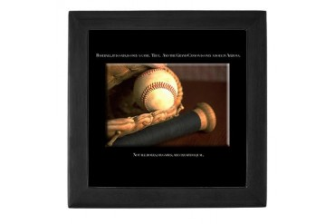 Quotes Sports Keepsake Box by CafePress