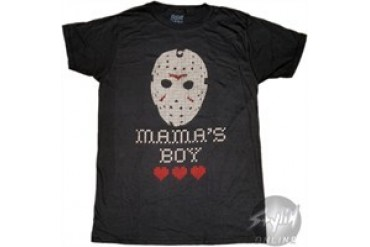 c5d01f096 Friday the 13th Mama's Boy Jason Mask T-Shirt Sheer - Price Comparison