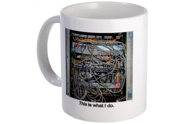 What I Do Internet Mug by CafePress