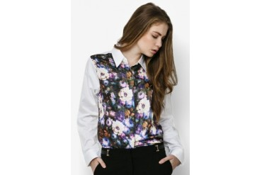Urban Twist Flowery Ls Shirt