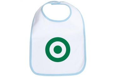 Nigerian AF roundel Air force Bib by CafePress