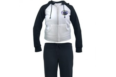 Club Soda, not Seals Canada Women's Tracksuit by CafePress