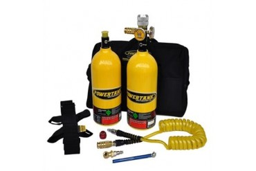 Power Tank 2.5lb. Power Shot Sidearm Package B  PS02-4150-YL Compressed Air System