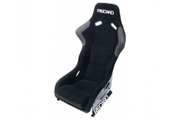 Recaro Profi XL Black VelourBlack Velour White Logo