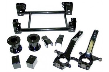California Super Trucks 7 Inch Subframe and Spindle Lift Kit CSS-N3-3 Complete Suspension Systems and Lift Kits