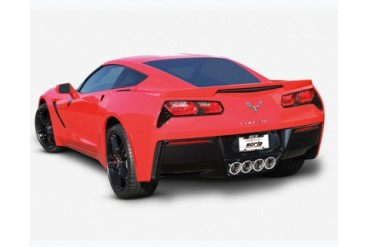 Borla S-Type 2.75inch 2.25inch Dual Round Rolled Angle Cut Exhaust Corvette C7 6.2L V8 14