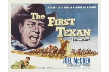 The First Texan Movie Poster (11 x 17)