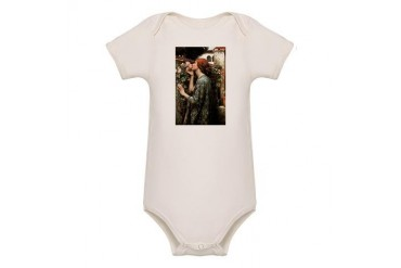 John William Waterhouse My Sweet Rose Organic Baby Vintage Organic Baby Bodysuit by CafePress