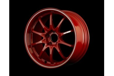 Volk Racing CE28RT Wheel Burning Red w Diamond Cut Lip 18X8.5 5x114.3 48mm