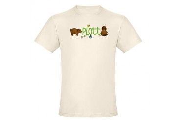 Plott brown Pets Organic Men's Fitted T-Shirt by CafePress