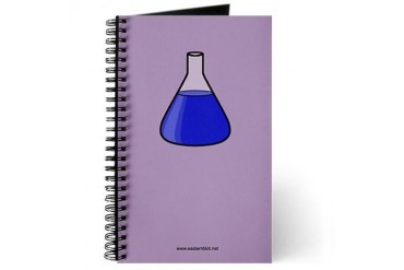 Lab Chemistry Journal by CafePress