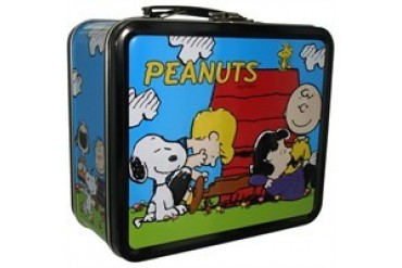 Peanuts Group Outside Metal Lunch Box