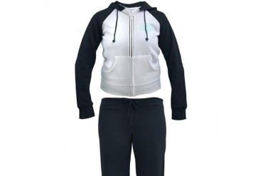 Shape of Love Series: River Flow Peace Women's Tracksuit by CafePress