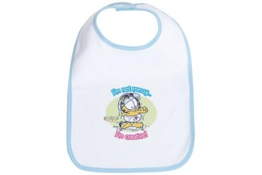 I'm not Messy...Garfield Baby Bib