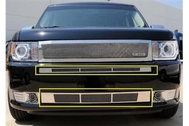 T-Rex Grilles Upper Class; Mesh Bumper Grille Insert 55523 Bumper Valance Grille Inserts