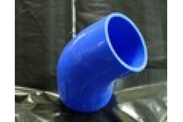 TurboXS Silicone 45 Degree Elbow Coupler 38mm Blue