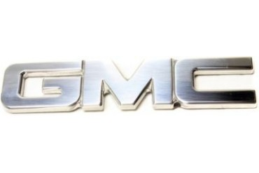 2001-2014 GMC Sierra 2500 HD Emblem All Sales GMC Emblem 96502P 01 02 03 04 05 06 07 08 09 10 11 12 13 14