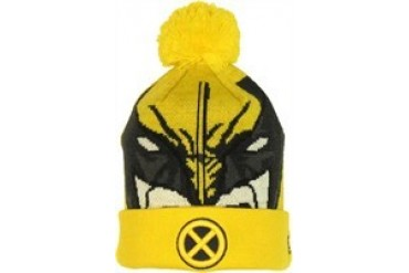 Marvel Comics X-Men Wolverine Woven Head Cuff Embroidered Beanie