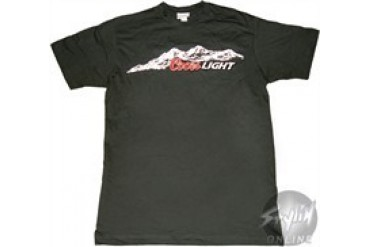 Coors Light Mountains T-Shirt Sheer