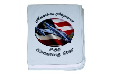 P-80 Shooting Star Hobbies baby blanket by CafePress