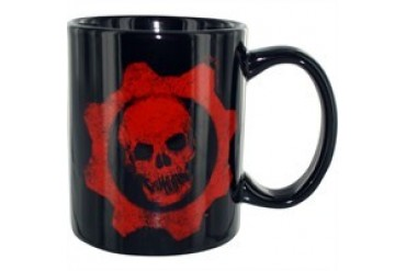 Gears of War 3 Crimson Omen Logo Mug